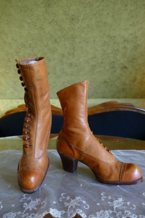antique RADCLIFFE boots 1916