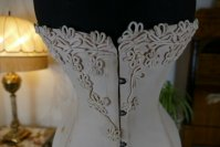 3 antique Corset Fibrogene 1912