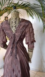 39 antique art nouveau dress