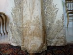 7 antique evening gown Worth 1910