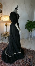 27 antique evening gown 1896