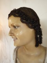 6 antique hair wig
