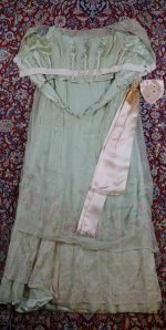 45 antique Jeanne Halle dress 1912