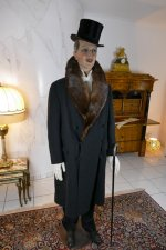 10 antique mens coat Herman Hoffmann 1925