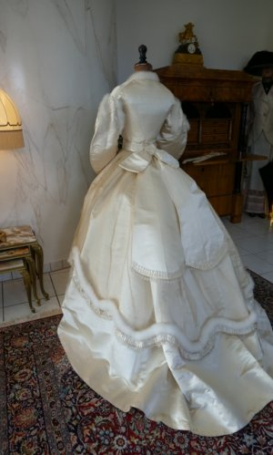 antique wedding dress 1876