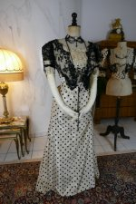 7 antique evening dress 1899