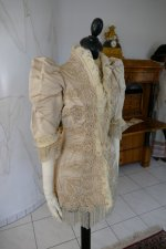 3 antique silk jacket 1895