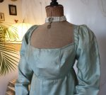 4antique silk dress 1800