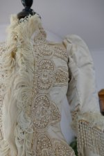 17 antique silk jacket 1895