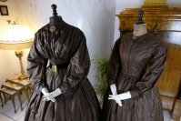 5 antique afternoon dress 1840