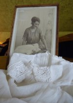 25 antique christening gown