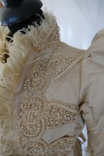 6 antique silk jacket 1895