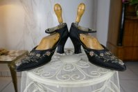 7 antique flapper shoes Berlin 1927