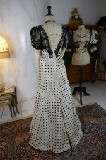 31 antique evening dress 1899