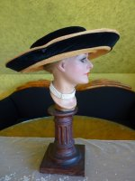 8a antique hat 1912 Cameron Titanic