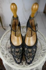 3 antique flapper shoes Berlin 1927
