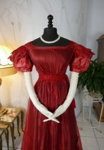 11 antique gauze dress 1828