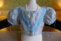 2 antique bodice 1850