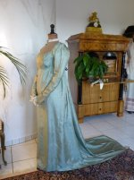 16 antique silk dress 1800