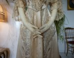 6a antique evening gown Worth 1910