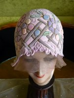 4 antique cloche 1920