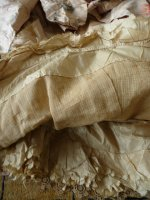 110 antique Ball gown 1880