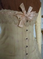 6 antique corset 1900