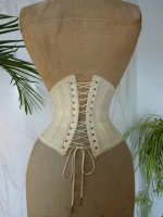 15 antique underbust corset 1900