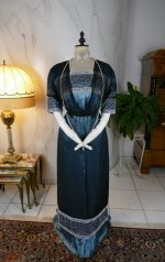 6 antique society dress Kayser 1908