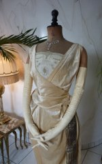 3 antique evening Dress 1919