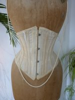 4 antique underbust corset 1900