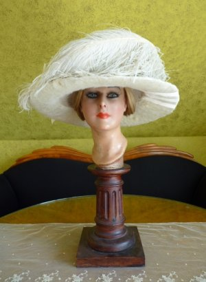 antique hat 1912