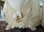 12 antique wedding Gown 1895