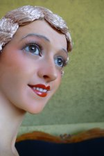 14 antique Pierre Imans wax mannequin 1920