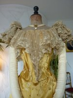 15 antique ball gown 1895