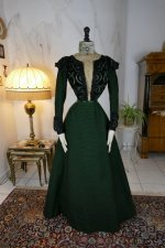 2 antique reception gown 1896
