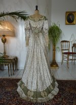 28 antique recpetion gown 1904