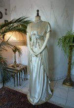 2 antique WORTH Evening Gown 1906