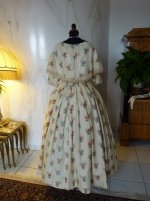 16 antique romantic period dress 1839