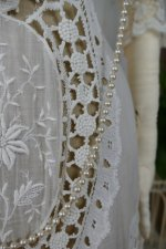 7 antique irish crochet dress 1904
