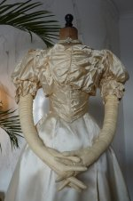 14 antique ball gown 1892