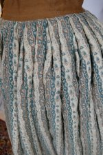 9 antique Biedermeier petticoat 1830
