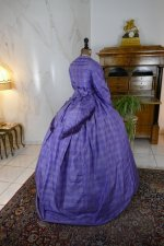 20 antique crinoline dress 1860