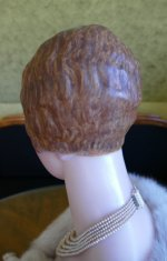 15 antique wax Bust 1920