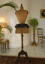 2 antique bustle pad