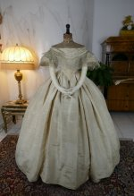2 antique ball gown 1859