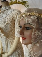 13aa antique wedding dress