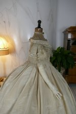 36 antique ball gown 1859