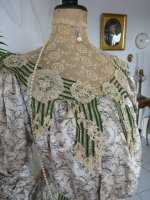 6a antique recpetion gown 1904