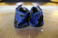9 antique baby shoes 1880